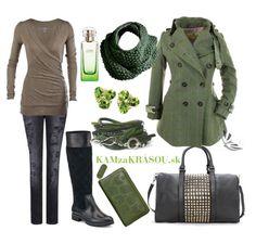 V šedo zelenej nám bude teplúčko :) #kamzakrasou #sexi #love #jeans #clothes #coat #shoes #fashion #style #outfit #heels #bags #treasure #blouses #dress