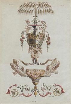 Nouvelle collection d'arabesques, 1810