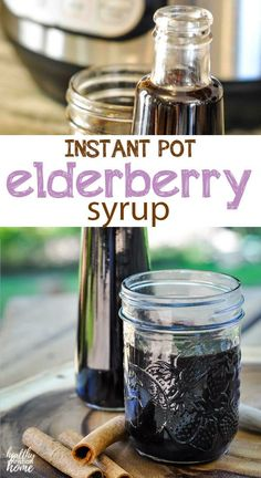 25 minutes · This easy Instant Pot elderberry syrup is much faster to make than the stovetop version, but with all the immune-boosting benefits! Filled with lots of elderberry goodness plus citrus, ginger and… Cold Remedies, Natural Home Remedies, Herbal Remedies, Health Remedies, Elderberry Honey, Elderberry Recipes, Instant Pot, Natural Living, Real Food Recipes
