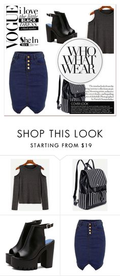"""""""Shein contest"""" by arijana123 ❤ liked on Polyvore featuring Essie and Who What Wear"""
