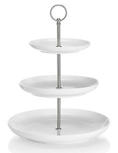 White 3-Tier Cake Stand