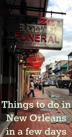 Things to do in New Orleans on a short trip http://www.wheressharon.com/family-trip-usa-caribbean/road-trip-usa/things-to-do-in-new-orleans/ #NewOrleans #familytravel #travel