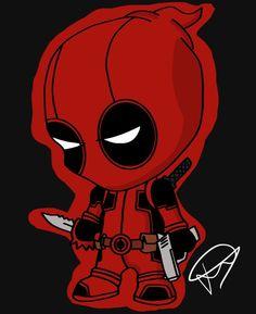 #Little #Deadpool #Fan #Art. (Deadpool) By:JaydonCooperDesigns. ÅWESOMENESS!!!™ ÅÅÅ+