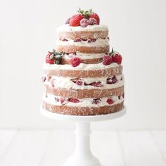 This delicious work in progress. | 24 Of The Most Beautiful Wedding Cakes Of 2014