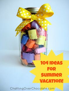 Chatting Over Chocolate: Magical Monday #17: 104 Days of Summer Vacation!
