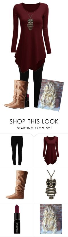 """Casual Cute outfit ~Charity"" by isongirls ❤ liked on Polyvore featuring LnA, Charlotte Russe, Decree and Smashbox"