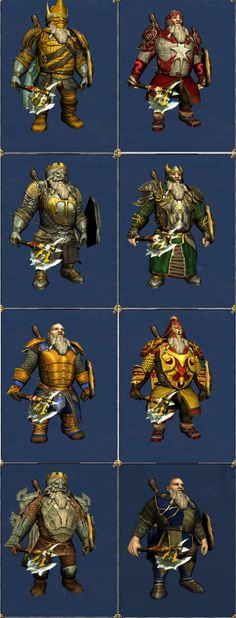 nice dwarf outfit combinations by Gerbag