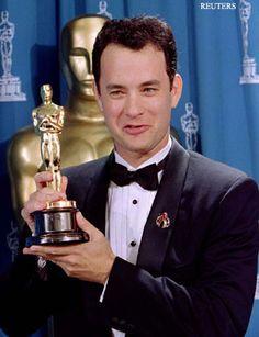 """Tom Hanks  1994 Best Actor """"Forrest Gump"""""""