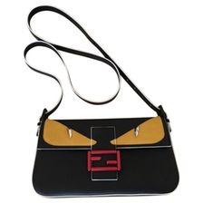 FENDI Baguette leather handbag Baguette 697a17567c4b6