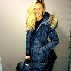 Bar Refaeli Bar Refaeli, Moncler, Film Festival, Fur Coat, Winter Jackets, Hoodies, Celebrities, Style, Fashion