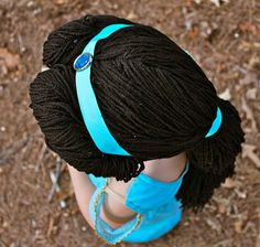 Jasmine Yarn Wig How To