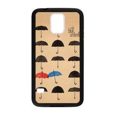 CaseCoco:Samsung Galaxy S5 The Umbrella Red And Blue Umbrella Case ID:15937-111786