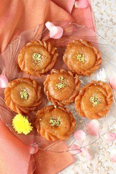 Badusha recipe aka Balushahi or Badhusha mithai is a gem among North Indian sweets made on special days & festivals like Diwali. How to make Badusha