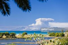 04-01 View to the active volcano in Montserrat with a large ash... #montserrat: 04-01 View to the active volcano in Montserrat… #montserrat