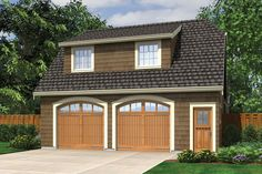 Traditional Style House Plan - 1 Beds 1 Baths 495 Sq/Ft Plan #48-629 Exterior - Front Elevation - Houseplans.com