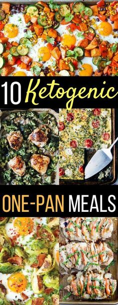 10 Ketogenic Sheet-Pan Recipes For Busy Weeknights dinners recipes ideas low car… – All Time Viral