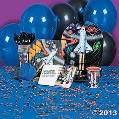 Be out of this world with Outer Space Party Supplies!