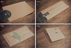 Quer criar uma embalagem de CD diferente? Veja aqui como fazer. Para proteger e armazenar o CD é pre