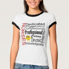Chick Humor - Nurses Recognition Collage T Shirt, Hoodie Sweatshirt