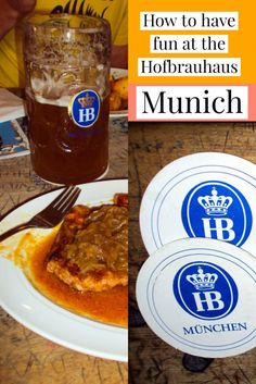 Going to Munich? The absolute best time will be at the iconic Hofbrauhaus! Don't miss out!