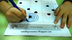 Busy Book, Teaching Kids, Plastic Cutting Board, Kindergarten, Playing Cards, Diy, Patterns, School Ideas, Gross Motor