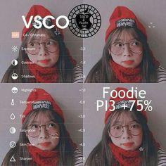 Vsco kết hợp vs Foodie nè~~