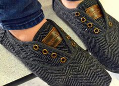 Shoes: toms herringbone flats hipster indie