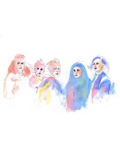 Skam | Eva, Vilde, Chris, Sana, og Noora