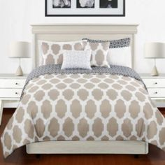 Calista 3-pc. Reversible Duvet Cover Set/