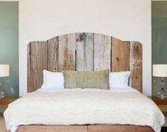 Rustic Wood Headboard Wall Decal, Rustic Headboard Wall Mural, Wooden Headboard Bedroom Wall Sticker, Rustic Wood Bedroom Wall Design, c53