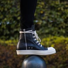 I wore: Oversized Fake Converse (Rick Owens Ramones) : Sneakers