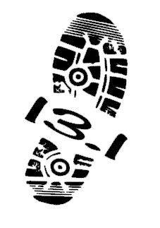 26.2 or 13.1 Marathon Runner Shoe Single by ElevateYourDecor, $6.00
