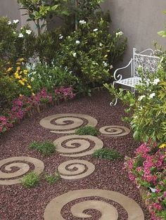 Decorate your garden with these simple and stylish pavers!!