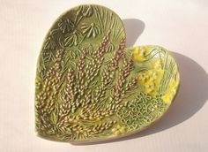 HEAVENLY LAVENDER Handmade Heart shaped by FaithAnnOriginals