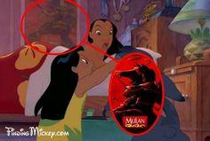 LILO ET STITCH Même les héros de nos Disney préférés sont ultra corporate. En effet, dans la chambre de Nani, la grande soeur de Lilo, vous ne trouverez pas de posters du dernier boys band à la mode, mais plutôt une représentation d'une véritable héroïne, Mulan.
