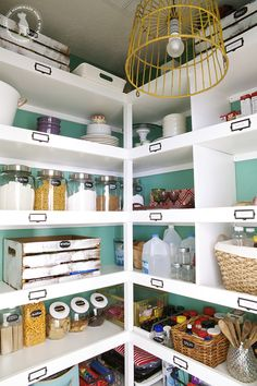 For a few decades, pantries became a thing of the past as homeowners embraced a modern age that included processed foods. Fortunately, in recent years, we've started demanding extra storage space in the kitchen, and the pantry is back. Most builders include a pantry of some kind in their plans, now. Just because it's there, though, doesn't mean it's pretty! Wire shelving, ineffective lighting, and cramped spaces are all fairly typical of builder-grade pantries. Get ideas ...