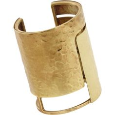 Lanvin Gold Oracle Cuff at Barneys.com