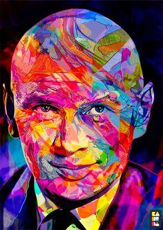 Por Amor al Arte: Colores abstractos por Alessandro Pautasso