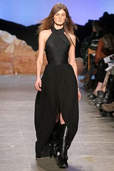 I love the bandaged torso with the fluid bottom.  Band of Outsiders Fall RTW 2012