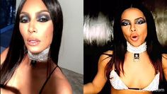 Kim Kardashian:   Fans Accuse Her Of Racism After Dressing Up As Aaliyah For Halloween