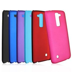 Durable Ultra Thin PC Hard Matte Protective Case Back Cover Bumper For LG K7 Sale - Banggood.com