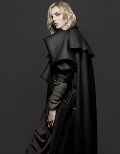 Andrej Pejic - DMAG by Sebastian Bar, via Behance