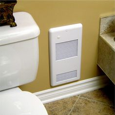 High Quality Bathroom Wall Heater Pulsair White: Heats a true 200 sq. feet, ultra-quiet electric wall heater for any small room. Safe and reliable 240 volt 2000 watts with a built-in easy to use thermostat. Grille with a safe rounded corners Bathroom Heater, Bathroom Spa, Small Bathroom, Bathroom Ideas, Bath Ideas, Bathroom Interior, Best Radiators, Amazing Bathrooms, Renting A House