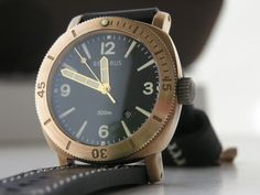 After looking at some bronze watches, I'm pretty sure that I need one desperately.
