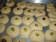 Hala's Kitchen: Ghraybeh - Traditional Middle Eastern Sugar Cookies