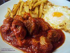 Spanish Cuisine, Spanish Food, Spanish Recipes, Salsa, Pork Stew, Latin Food, Clean Eating, Food And Drink, Menu