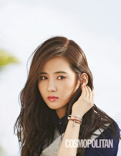 Yuri SNSD Girls' Generation - Cosmopolitan Magazine November Issue 2014