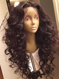 200% Density Weave Lace Front Human Hair Wig - touchedbytim030