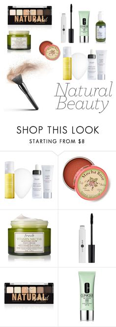 """No makeup, makeup look"" by vicitoria1407 ❤ liked on Polyvore featuring beauty, Julep, Anthropologie, Fresh, NYX and Clinique"