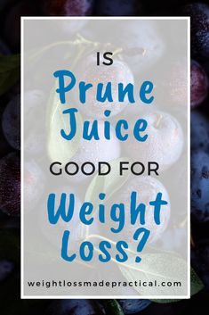 There are plenty of so-called healthy drinks that are not so great. How about prune juice, is it good for weight loss or not? Drinking the right drinks is important for weight loss!  #weight loss #weight loss foods #prune juice Nutrition Tips, Health And Nutrition, Dried Plums, Kinds Of Fruits, How To Make Drinks, Group Fitness, Trying To Lose Weight, Juice Cleanse, Women's Health